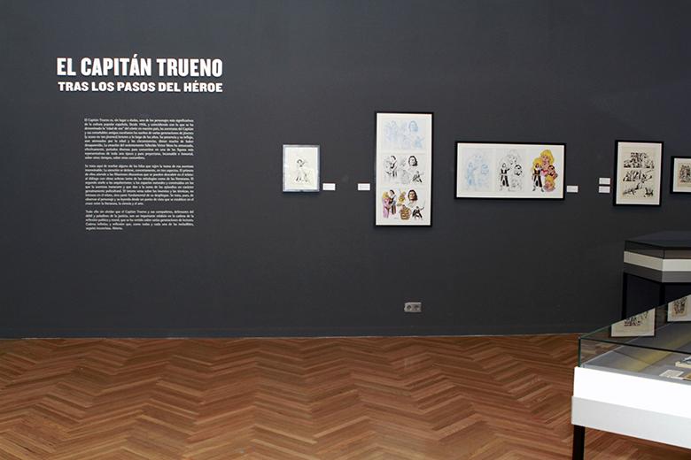 Exposición El Capitán Trueno. Foto3
