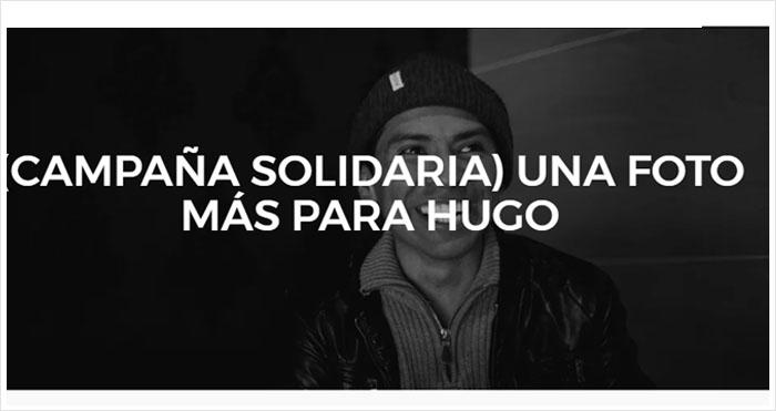 una foto más para Hugo Ortuño