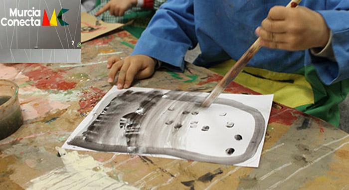 El Arte de los niños del Programa Crisálida en Murcia Conecta