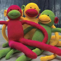 Jan Willet, Soft Sculpture, Monkeys
