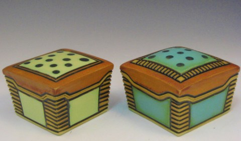 Kingsley Weihe Ceramic Boxes