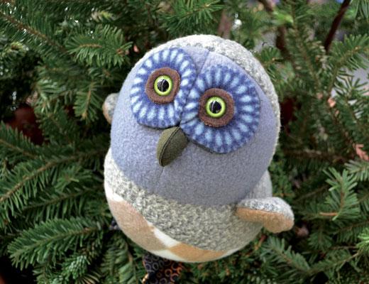 Linda Bryant, Soft Sculpture, Owl