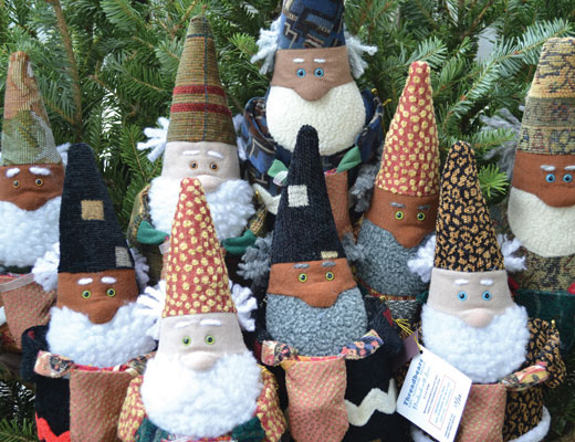Linda Bryant, Soft Sculpture, Gnomes