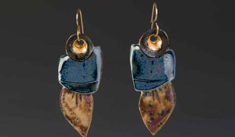 Sholeh Regna Porcelain Earrings