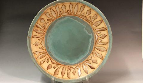 Kingsley Weihe, Ceramic plater