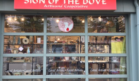 Sign of the Dove Gallery at Porter Square