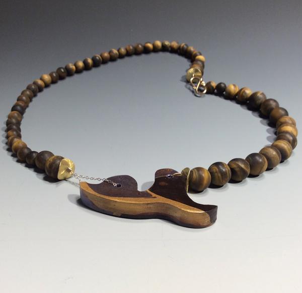 Marbled Cedar Necklace