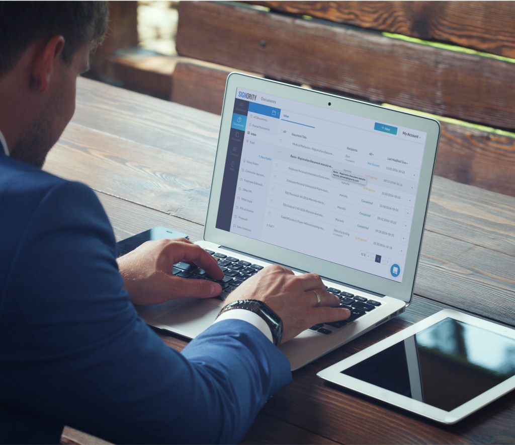 Digital Security with Electronic Signatures
