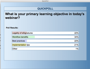 Primary learning objective in today's webinar
