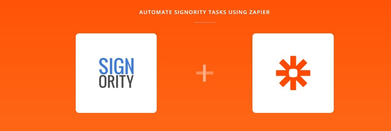 Signority Announces Their New Zapier Integration
