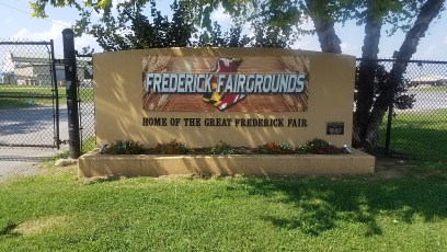 Frederick Fairgrounds monument signs