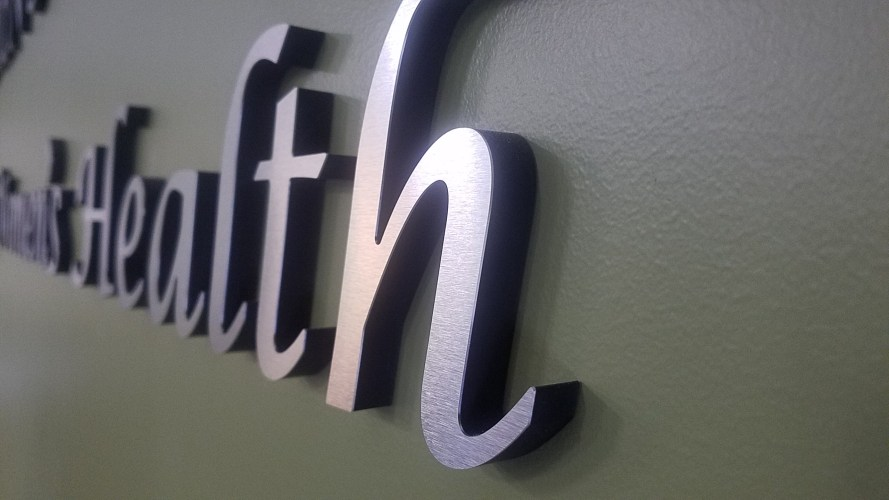 Pin Mount Acrylic / Metal Letters - Affordable Signs & Neon