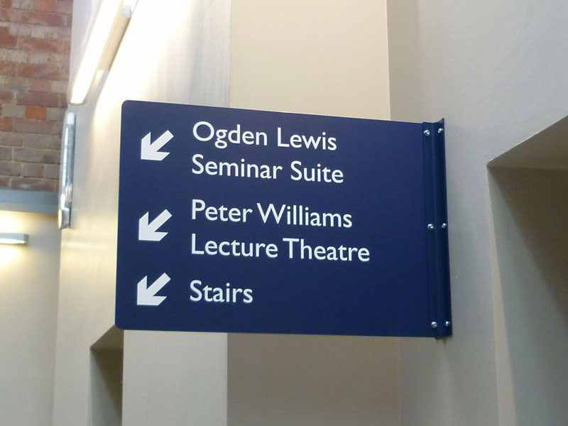 Wayfinding Signs Lead The Way