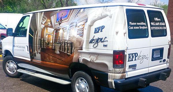full wrap van