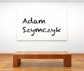 Künstlerbiographie adam szymczyk icon
