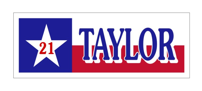 taylor banner