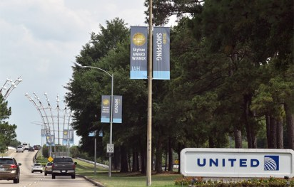 Houston Airport System IAH Banners