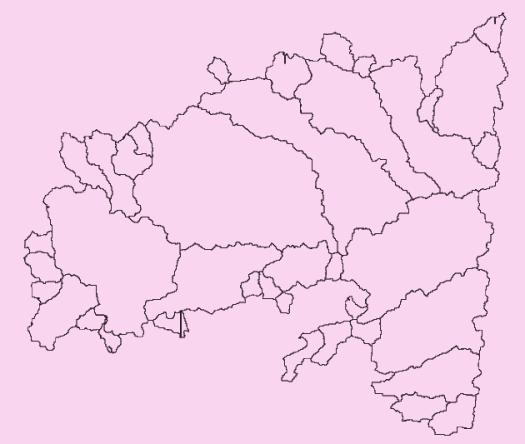 agrégation des bassin versants