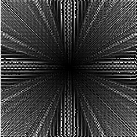 résultat du calcul de l'écoulement avec la méthode kra