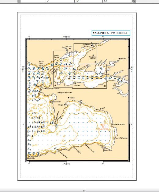 document arcmap à exporter en pdg géographique