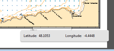 fenêtre de géolocalisation d'un document pdf