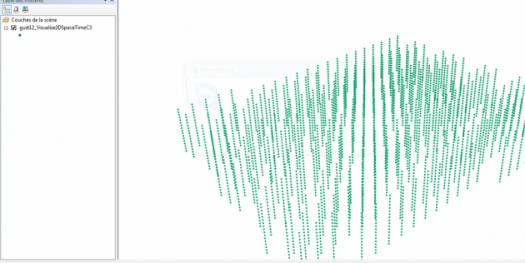 affichage de la couche arcscene du cube