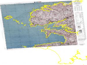 exemple de carte en lambert 1 sur des données lambert 93