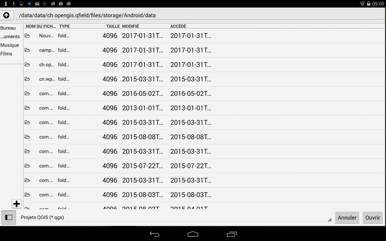 QField: the mobile device of QGis for Android | Blog GIS