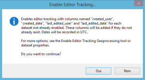How to track changes in a geodatabase under ArcGis | Blog