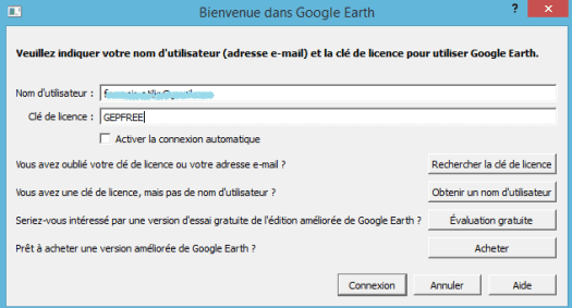 google earth pro 7.1 license key and username free