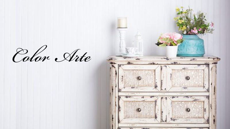 Ricoloriamo i tuoi vecchi mobili in stile. Offerta Mobili Vecchi Rinnovati Stile Shabby Promozione Sihappy