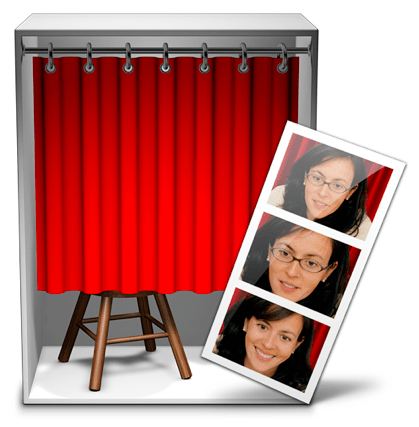 Sihirli elma photo booth icon