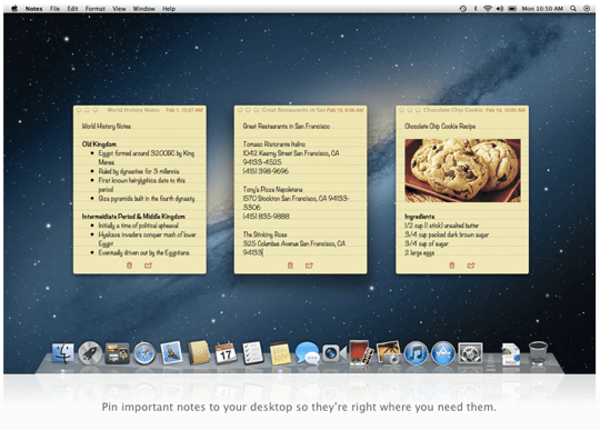 Sihirli elma os x 10 8 mountain lion notes 2