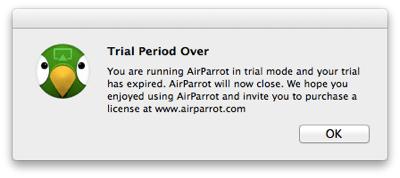 Sihirli elma airparrot 10 trial