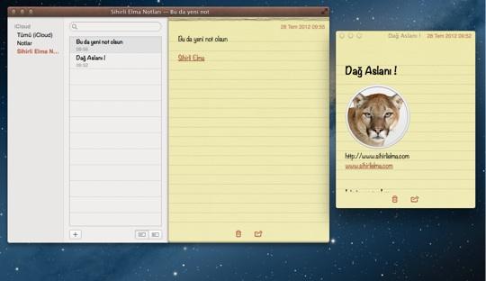 Sihirli elma mountain lion notlar animsaticilar bildirim merkezi 11
