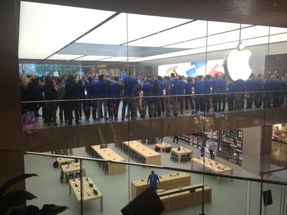 Sihirli elma apple store zorlu center aciliyor 5197