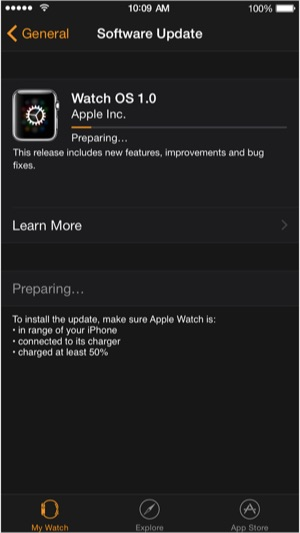 Sihirli elma apple watch os 1 0 1 d