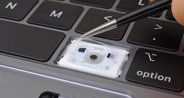 2018 MacBook Pro Klavye Koruması