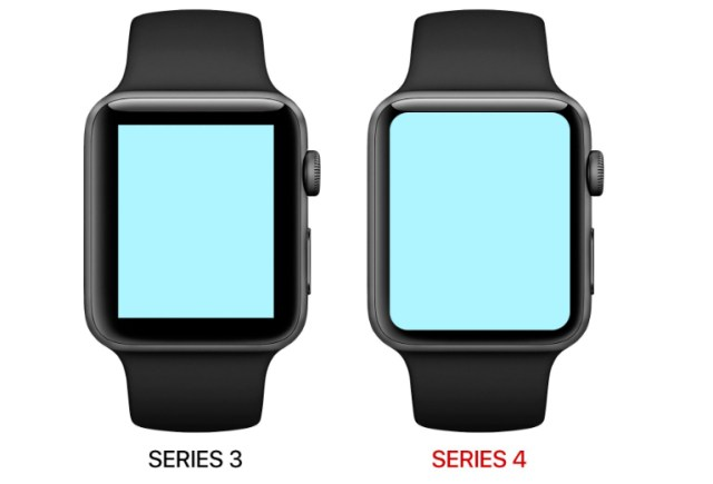 Apple Watch Series 3 vs Apple Watch Series 4