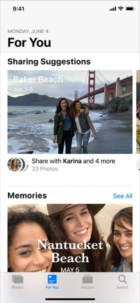 iOS 12 Fotoğraflar