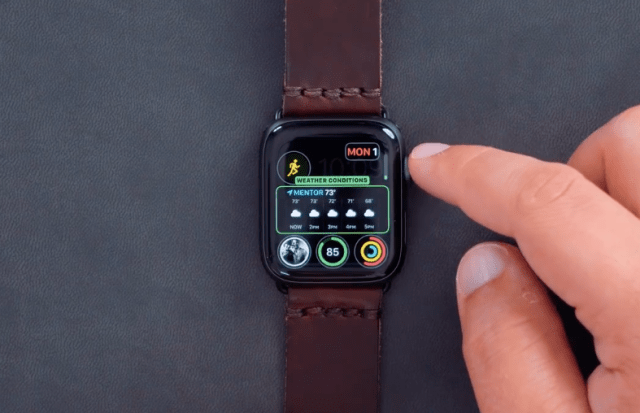 Apple Watch Series 4 İnfografik Modüler