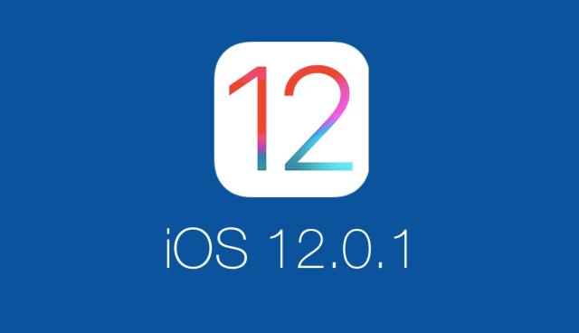 iOS 12.0.1 Güncellemesi