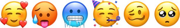 iOS 12.1 Yeni Yüzler Emoji