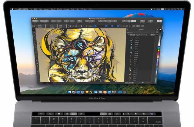 Mac için CorelDRAW