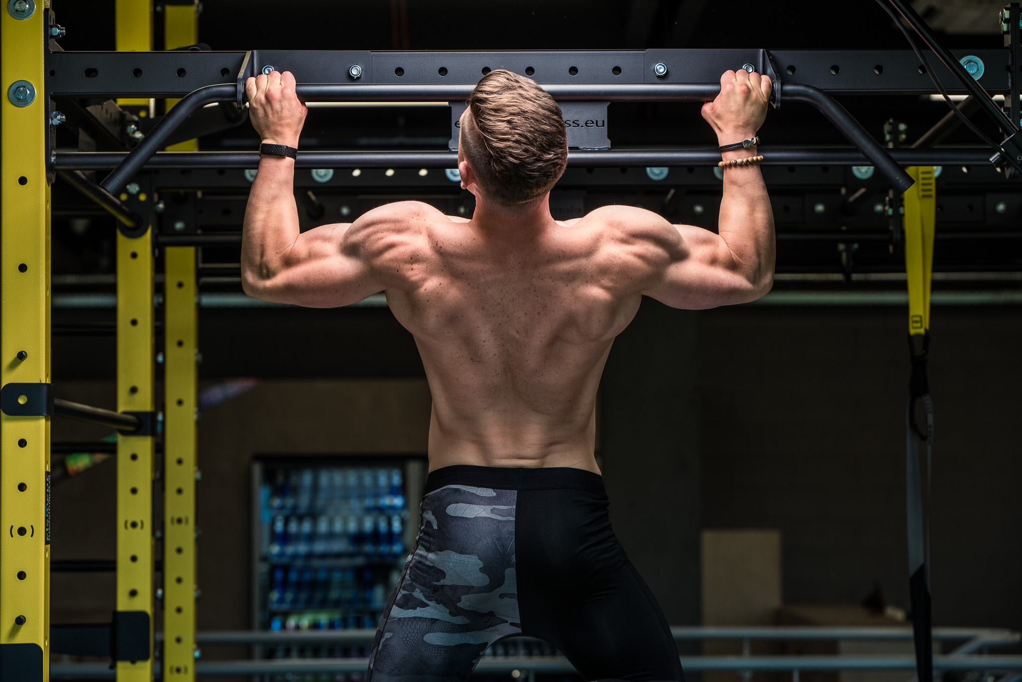 Pull-ups with Egert Oiov