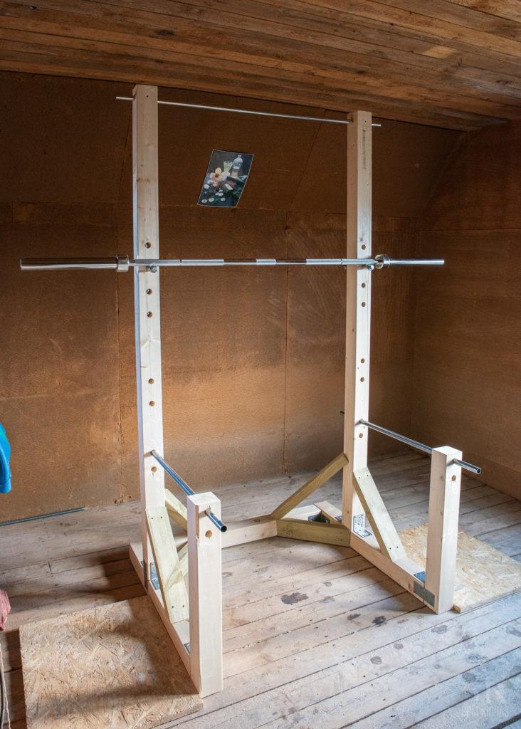my diy squat rack siim kinnas fotowark
