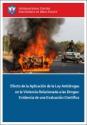 Imagen de Evidencia cientifica de la relación entre las leyes antidrogas y la violencia asociada