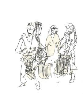 african_drummers