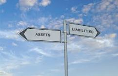 net worth-assets vs liabilities