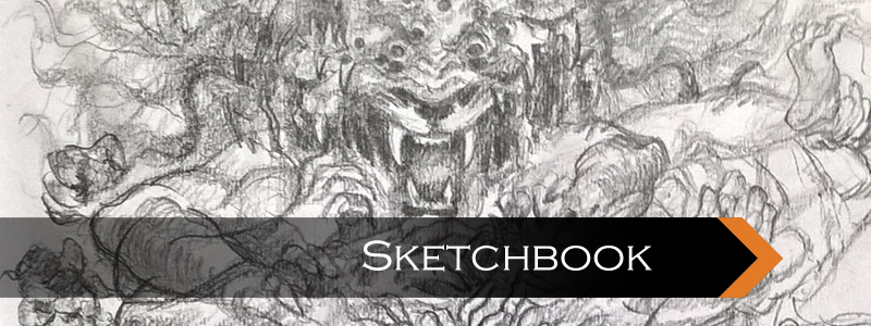 Sketchbook, Sikh Art, Sikh Sketches, Hindu Art, Hindu Sketches, Fantasy Art, Punjabi Hindus, Punjabi Culture, Religions of Punjab, Vaishnav, Shaiv, Vishnu, Shiva, Narsingh